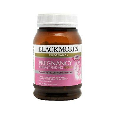 【香港直�]】澳洲Blackmores澳佳��孕�D�S金素孕�D�I�B素180粒*1瓶�b