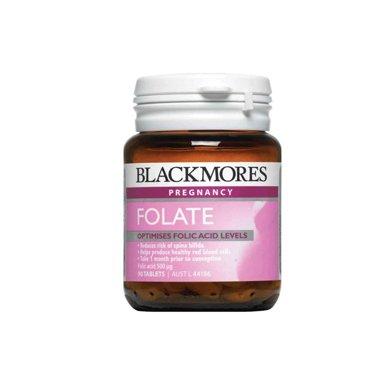 【香港直郵】澳大利亞澳佳寶Blackmores天然葉酸500 孕前孕期必備(90粒)*1瓶