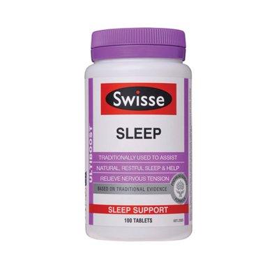 【香港直�]】澳洲瑞思swisse睡眠片褪黑素 100粒*1瓶�b