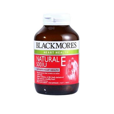 【海外直�]】澳洲澳佳��Blackmores�S生素E�z囊500IU 150粒*1瓶�b