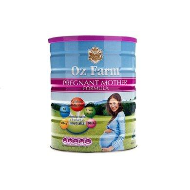 1罐*澳洲澳美滋孕婦奶粉Oz Farm孕婦孕期哺乳期營養奶粉900g【香港直郵】
