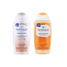 【香港直邮】澳洲Femfresh洗液女性私处护理液250ml*2瓶 组合套装(孕妇可用)