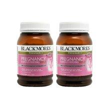 【海外直邮】澳洲Blackmores澳佳宝孕妇黄金素营养素180粒*2瓶装