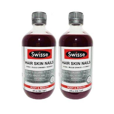2瓶*澳洲Swisse瑞思�z原蛋白液500ml【香港直�]】