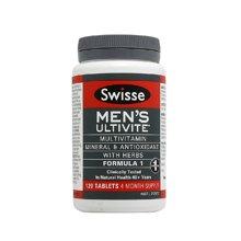 【香港直邮】澳洲Swisse男士复合维生素120粒*1瓶装