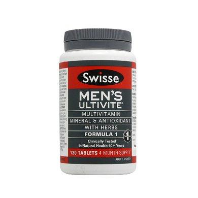 1瓶*澳洲Swisse男士復合維生素120?!鞠愀壑编]】