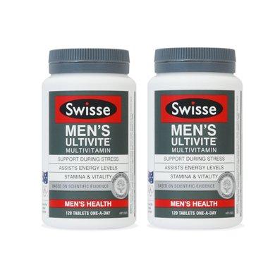2瓶*澳洲男士維生素Swisse男士復合維生素 大瓶裝120?!鞠愀壑编]】