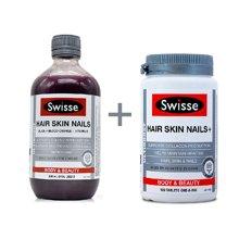 【海外直邮】澳洲瑞思swisse胶原蛋白液500ml+澳洲Swisse胶原蛋白片100粒*组合装
