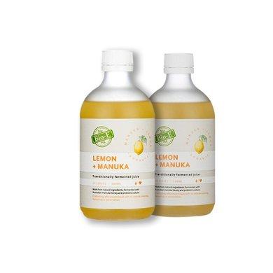 2瓶*澳洲Bio-e有�C酵素��檬味500ml(新包�b)【香港直�]】