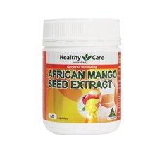 【香港直邮】澳洲Healthy care非洲芒果籽精华 60粒*1瓶装