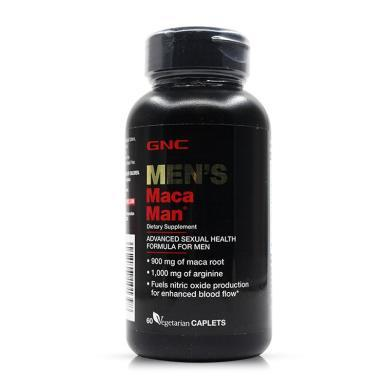 【支持購物卡】美國GNC健安喜 秘魯瑪卡 MACA 60粒 男性健康