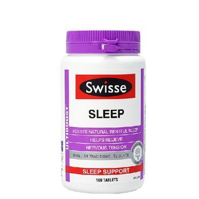 【支持購物卡】澳洲Swisse 改善睡眠片 100粒 睡眠健康