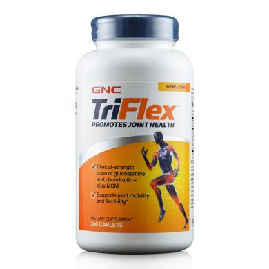 【支持購物卡】美國GNC健安喜維骨力triflex加強版240粒 骨骼健康