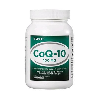 【支持购物卡】美国GNC健安喜辅酶Q10软胶囊100mg 120粒 心脑血管