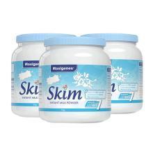 【支持購物卡】3罐*澳洲 美可卓藍胖子Maxigenes成人高鈣脫脂奶粉1kg/罐