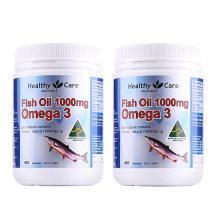 【支持购物卡】【2瓶】澳洲Healthy Care深海鱼油400粒  心脑血管 进口保健品