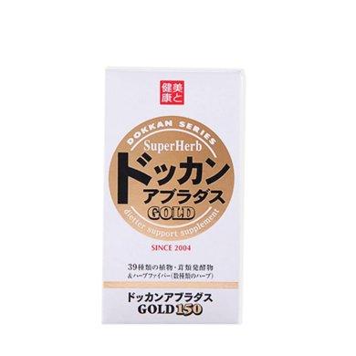 1盒*日本DOKKAN金裝酵素 植物酵素力量金裝酵素片加強版150粒【香港直郵】