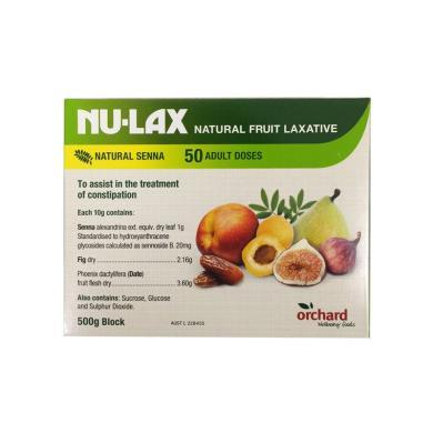 【支持購物卡】澳洲NU-LAX樂康膏 果蔬潤腸膏 500g 腸胃肝臟