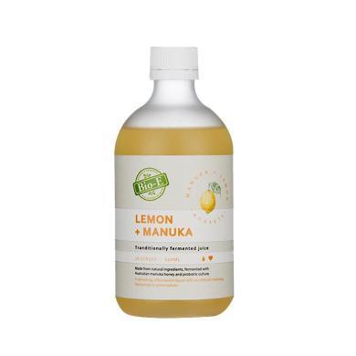【支持购物卡】澳洲Bio-E天然柠檬麦卢卡蜂蜜酵素 500ml 美容养颜