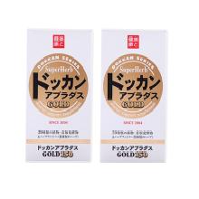 2盒*日本DOKKAN 金装酵素植物力量金装酵素片加强版进口保健品150粒【香港直邮】