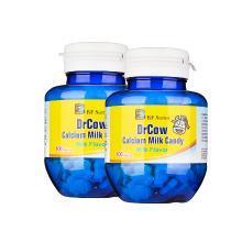 【支持购物卡】【2瓶】美国BFSUMA澳玛家 牛博士含钙牛奶片儿童钙片100粒/瓶 进口保健品