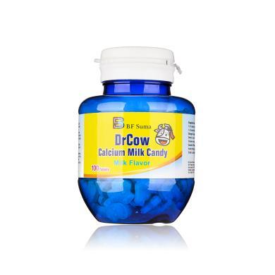 【支持購物卡】美國BFSUMA澳瑪家 牛博士含鈣牛奶片兒童鈣片100粒 進口保健品