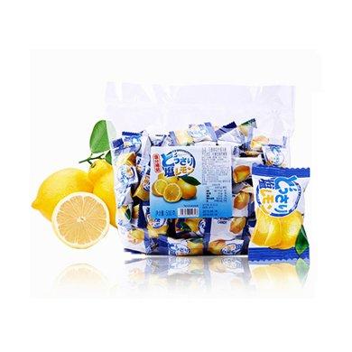 馬來西亞進口  可康牌咸檸檬糖果500g 結婚慶喜糖休閑零食硬糖水果糖散裝兒童兒時
