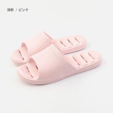 樸西女夏浴室涼拖防滑厚底男女漏水鞋子速干鏤空按摩洗澡拖鞋
