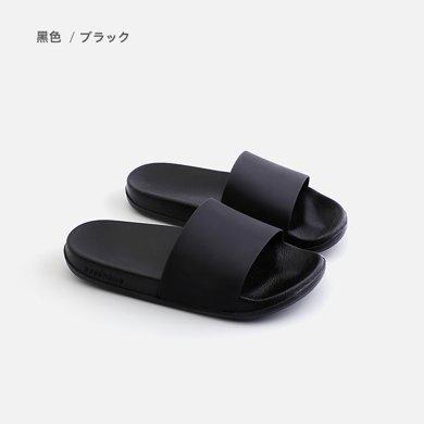 朴西 拖鞋女夏季 日式外穿情侣家居厚底软底静音浴室防滑凉拖鞋男