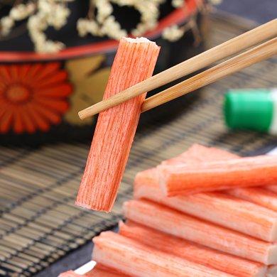 崇鲜进口日式蟹柳500g/袋装蟹肉棒火锅食材