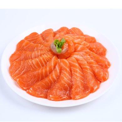 崇鮮 挪威進口冰鮮三文魚刺身 400g 盒裝 生魚片 海鮮