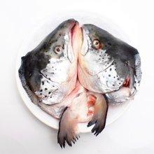 崇鲜挪威进口三文鱼头500g-800g/个鱼头*3
