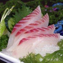崇鲜生鲷鱼片刺身无骨无刺海鲜生鱼片寿司罗非鱼约160克/包*3包
