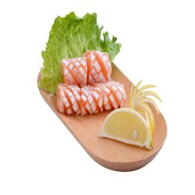 崇鲜挪威进口冰鲜三文鱼腩350g/盒三文鱼刺身