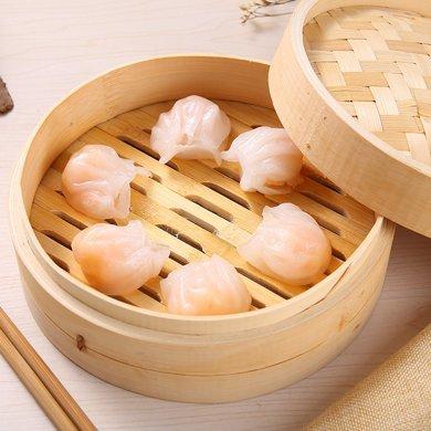 水晶蝦餃皇港式500克 廣東廣式早茶點心 蝦餃水晶蝦餃