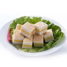 Asian Choice 亚洲优选 冷冻三色鱼豆腐(冷冻鱼糜制品)200g