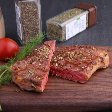 烏拉圭肉眼心牛排240克*2  高端西餐牛排