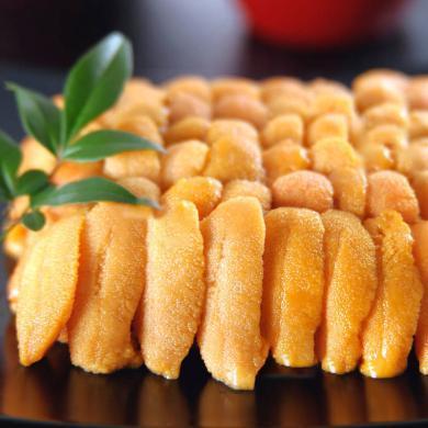 崇鮮 海膽 100g 冷凍美味海膽黃 日本進口漂燙海膽肉