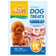 路斯狗狗零三明治200g泰迪貴賓金毛訓犬零食肉粒肉干寵物食品
