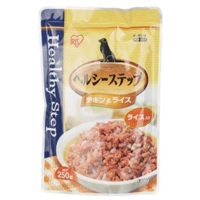 爱丽思IRIS狗零食妙鲜包软罐头鸡肉米饭狗食品HLR 250克