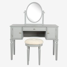 雅客集爱妮梦实木梳妆桌椅WN-17046GA