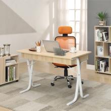 雅客集英帝拉X型脚电脑桌WN-14079 书房家用书桌时尚办公桌钢木桌