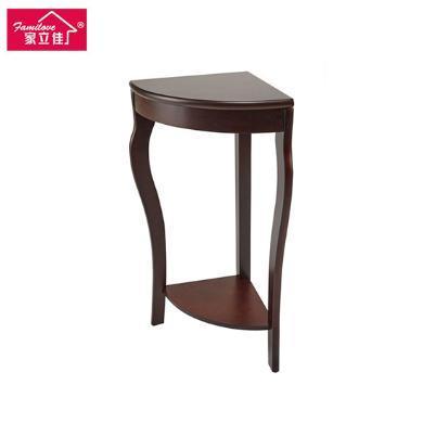 家立佳 歐式實木轉角桌 FLEJ-5005 櫻桃紅