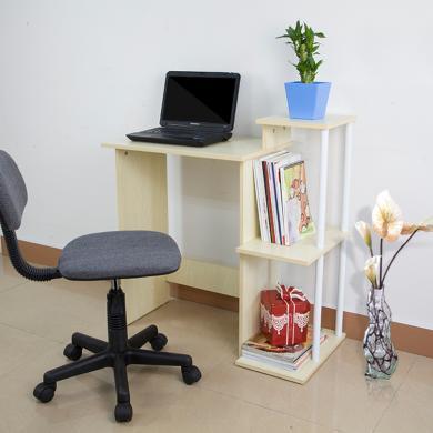 雅客集清風簡約電腦書桌WN-15035  帶書架小電腦桌寫字辦公桌
