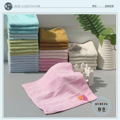 纯棉小小方巾