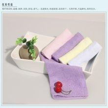 纯棉糖果色方巾