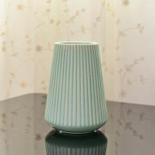 DEVY 簡約現代冰裂陶瓷花瓶套裝擺件家居餐桌仿真干花藝插花器
