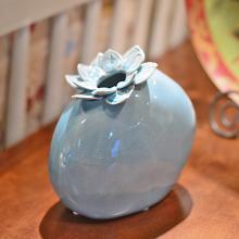 墨菲 新中式韻味陶瓷花瓶 擺件客廳現代簡約歐式創意裝飾品插花器