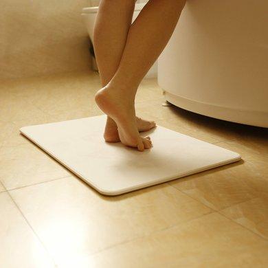 硅藻泥腳墊浴室吸水速干地墊衛浴衛生間天然硅藻土腳墊防滑墊