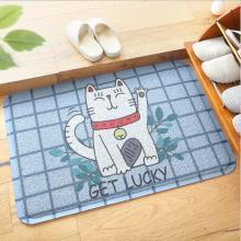 家用进门除尘PVC丝圈地垫 卡通入户浴室耐磨耐蹭防滑脚垫